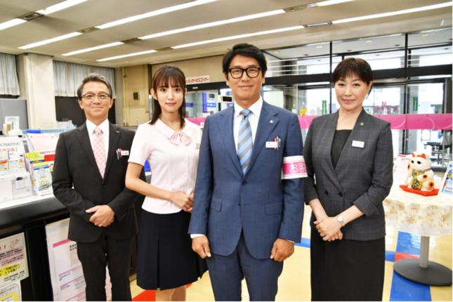 庶務行員・多加賀主水5(テレビ朝日番組ホームページより)