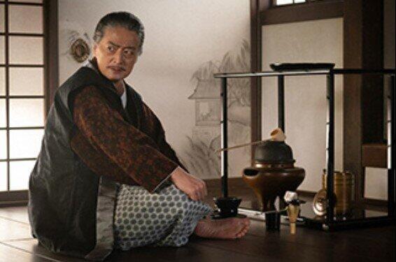 堺の豪商・今井宗久(NHK「麒麟がくる」番組ホームページより)