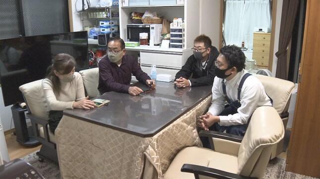 家族全員が感染。「別々に療養し連絡手段も限られていた」と振り返る(NHK番組公式サイトより)