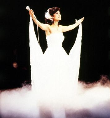 1980年10月5日、日本武道館の伝説のラストコンサート((C)NHK)