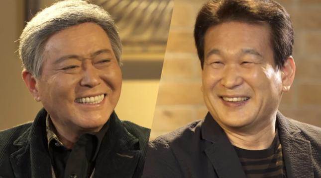 「とくダネ!」SP企画で対談する小倉智昭(左)と辛坊治郎(フジテレビュー公式サイト)