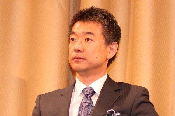 橋下徹さん(編集部撮影)が池江璃花子選手の活躍についてコメントした。