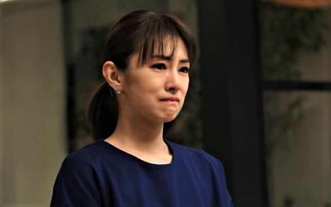 「紘一とよりを戻したいのに…」思いが伝わらずに泣く咲(TBSの公式サイトより)