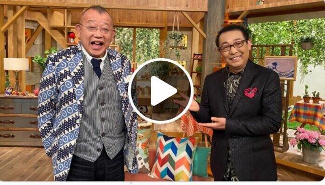 NHKの「鶴瓶の家族に乾杯」番組サイトより