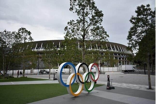 東京オリンピックの開会式が行われた