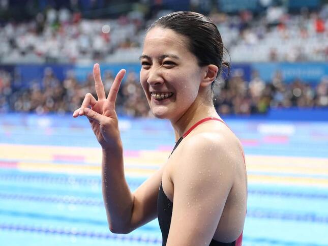 大橋悠依選手が2冠を達成した(写真:青木紘二/アフロスポーツ)