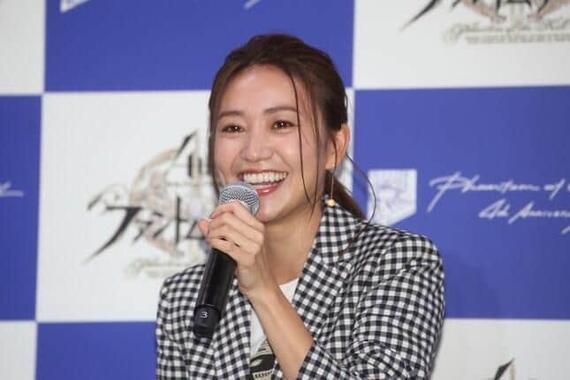 大島優子さん(2018年、編集部撮影)
