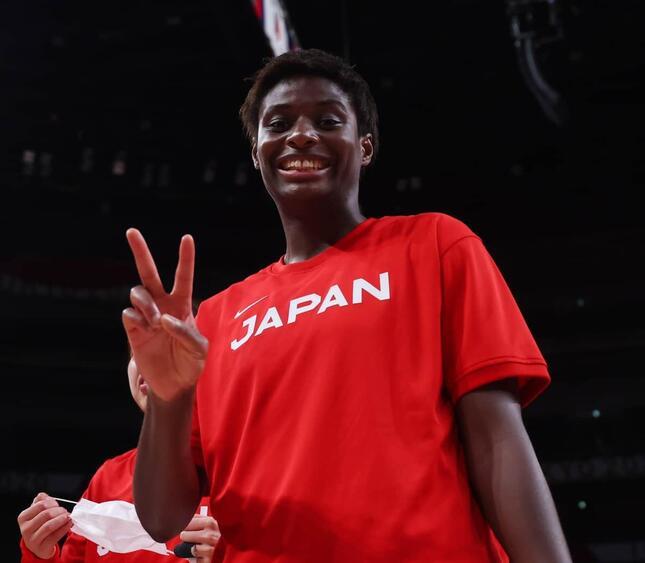 馬瓜エブリン選手(写真:森田直樹/アフロスポーツ)