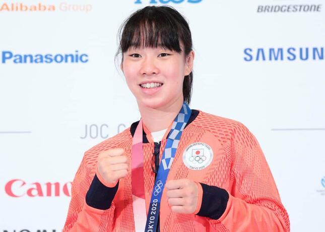 入江聖奈選手(写真:アフロスポーツ)