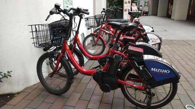 シェア自転車への注目度が高まっている