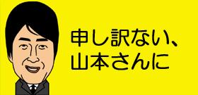 申し訳ない、山本さんに