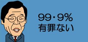 99・9%有罪ない