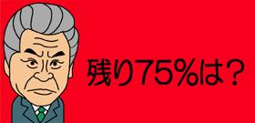 残り75%は?