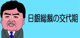 日銀総裁の交代期