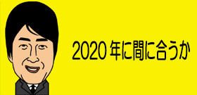 2020年に間に合うか