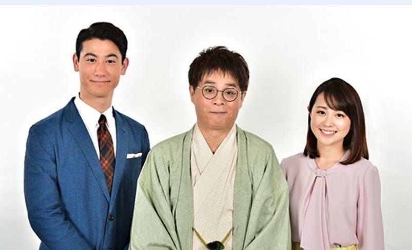 立川志らく(中央)と国山ハセン、若林有子両アナ(TBSの番組ホームページより)