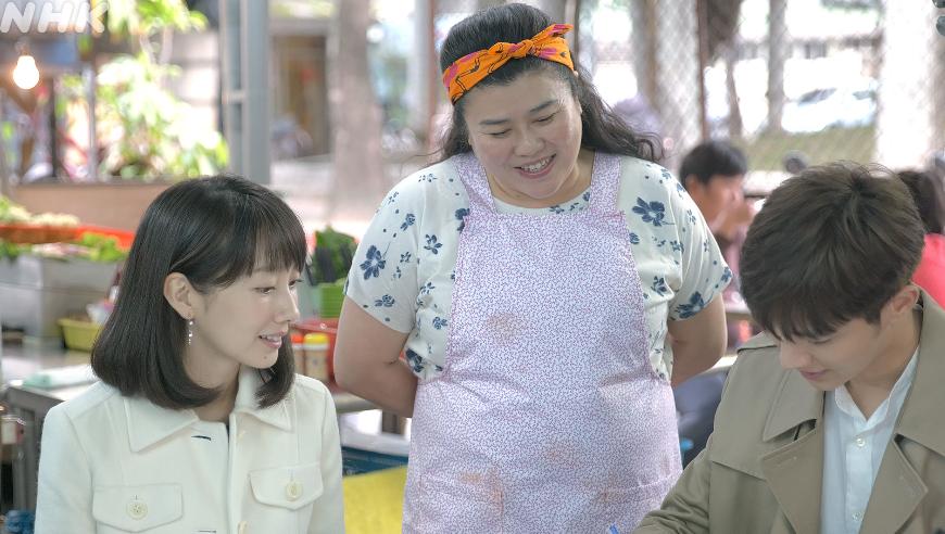 <路~台湾エクスプレス~>(NHK総合・BS4K)<br/>台湾新幹線をめぐる日本の商社ウーマン春香と台湾人男性エリックの恋の行方は?