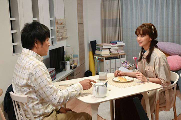 トライアル婚中の2人が初々しい(TBS「私の家政夫ナギサさん」の番組ホームページより)