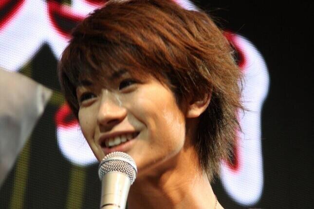 三浦春馬さん(2008年)