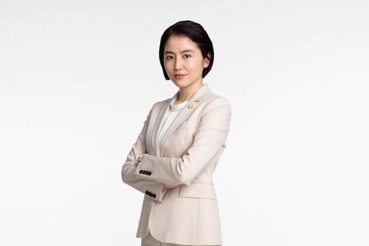 水野直美役の長澤まさみ (C)TBS